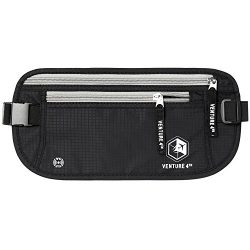 VENTURE 4TH Travel Money Belt for Men and Women – Keeps Your Cash Safe When Traveling R ...