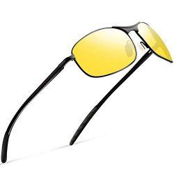 Night Vision Glasses for Driving – Feirdio HD night driving glasses anti glare polarized m ...