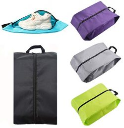 Travel Shoe Bags Nylon Waterproof Storage Bags with Handle for Men & Women (5XL Nylon)