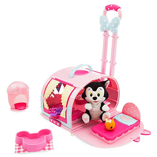 Disney Minnie Mouse and Figaro Pet Carrier Play Set
