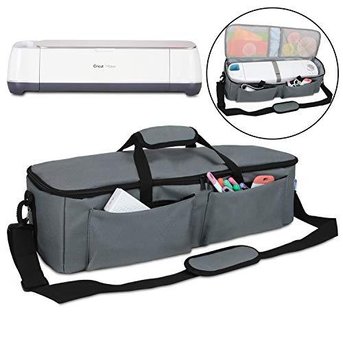 Yarwo Carrying Bag for Cricut Explore Air (Air 2), Cricut Maker, Tote Bag Travel Bag Compatible  ...