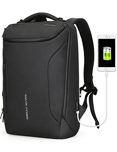 Water-proof Backpack Markryden large-capacity Modern rucksack Business Bags for men with USB Cha ...