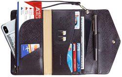 Travelambo Rfid Blocking Passport Holder Wallet & Travel Wallet Envelope Various Colors (SL  ...