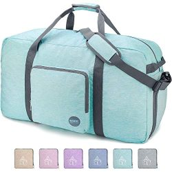 32″ Foldable Duffle Bag 100L for Travel Gym Sports Packable Lightweight Luggage Duffel Wat ...