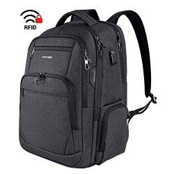 KROSER Travel Laptop Backpack 15.6-17.3 Inch Large Computer Backpack Water-Repellent School Dayp ...