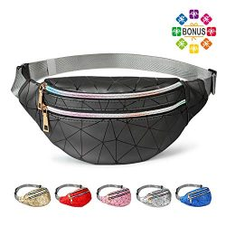Fanny Packs for Women Men, Cute Fanny Pack for Kids Teens Girls Boys, Fashion Waterproof Waist P ...