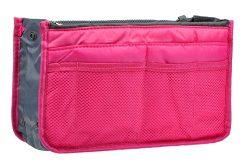 Vercord Purse Organizer Insert Handbag Organizer Bag in Bag 13 Pockets Rose Large
