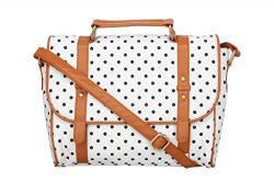 Kleio Cotton Canvas Retro Crossbody Satchel Shoulder Bookbag Messenger Bag Work Handbag For Wome ...