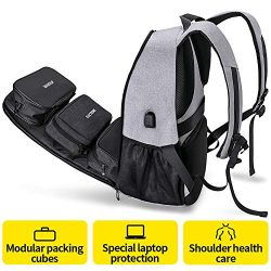 Travel Laptop Backpack for Men & Women, ARUNGOR Anti Theft Carry on College School Backpack  ...