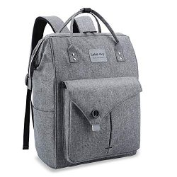 5f17f3e49 Lekesky Laptop Backpack 15.6 Inch Work Laptop Backpack Computer Backpack  Business Backpack Water .