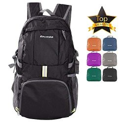 DVEDA Ultra Lightweight Packable Backpack, 35L Large Capacity Water Resistant Hiking Daypack Fol ...