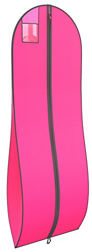 Gusseted Garment Bag – For Prom Dresses and Bridal Wedding Gowns – Travel Folding Lo ...