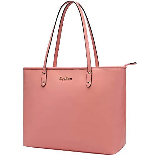 Laptop-Bag-for-Women-15.6 Inch Computer Shoulder Bag Lightweight Business Work-Tote Bag with Wat ...