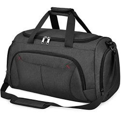 Gym Duffle Bag Waterproof Large Sports Bags Travel Duffel Bags with Shoes Compartment Weekender  ...