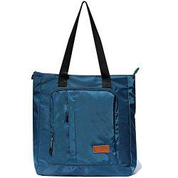 Large Travel Tote Water Resistant Shoulder Bag Lightweight Gym Tote for Men Women Unisex Day Bag ...