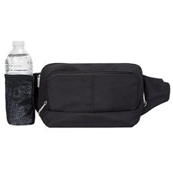 Travelon Anti-Theft Waist Pack, Black, One Size