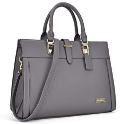 DASEIN Designer Tote Purse Satchel Handbag Faux Leather Shoulder Bag Top Handle Bag Briefcase Wo ...