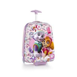 Nickelodeon Hardside Multicolored Luggage for Kids – 18 Inch [PAW Patrol]