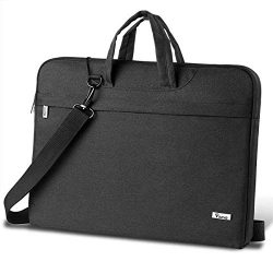 Voova Laptop Bag 17 17.3 inch Water-Resistant Laptop Sleeve Case with Shoulder Straps & Hand ...