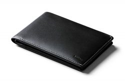Bellroy Leather Travel Wallet – Black – RFID