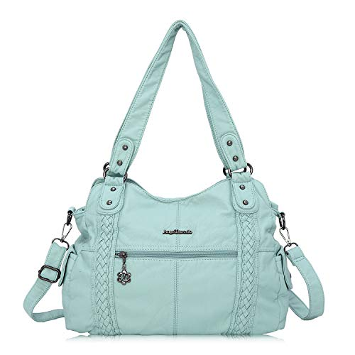 Angel Barcelo Roomy Fashion Hobo Womens Handbags Ladies Purse Satchel Shoulder Bags Tote Washed  ...