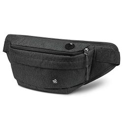 Waterfly Fanny Pack for Men Women Water Resistant Hiking Waist Bag Pack for Running Walking Trav ...