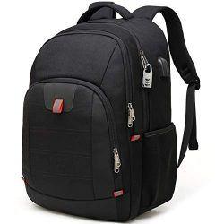 Travel Laptop Backpack,Extra Large Anti Theft College School Backpack for Men and Women with USB ...