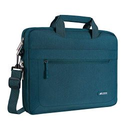 MOSISO Laptop Shoulder Bag Compatible 17-17.3 Inch MacBook/Notebook/Chromebook/Tablet with Adjus ...