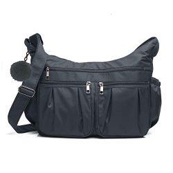 Crossbody Bags for Women RFID Anti-Theft Shoulder Bag Waterproof Nylon Travel Purses and Handbag ...