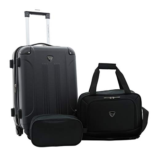 Travelers Club 3-4-5 Piece Set Sky+ Spinner Luggage Set