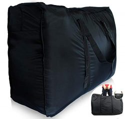 Plago Nylon Huge-Capacity Travel Duffel Bag Waterproof Luggage Sport Blanket Storage Various Pur ...
