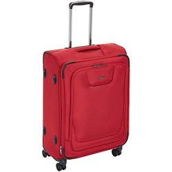 AmazonBasics Expandable Softside Spinner Luggage Suitcase With TSA Lock And Wheels – 25 In ...
