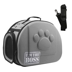 AriTan Airline Approved Soft-Sided Collapsible Portable EVA Pet Travel Carrier with Mesh Windows ...