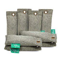 Bamboo Charcoal Shoe Deodorizer Bags (8-Pack), 100-gram Mini Activated Charcoal Deodorizer Bags, ...