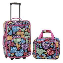 Rockland 2 Pc Luggage Set, Newheart
