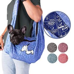 Zoozpets Peanuts Dog Sling | Carrier Snoopy Soft Pouch & Comfy Strap Dog Carrier | Exclusive ...