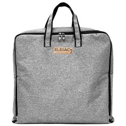 ELESAC Foldable Garment Bag,Clothing Suit Dance w/Pockets, for Business Travel (Foldable Garment ...