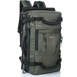 KAKA Travel Backpack,Carry-On Bag Waterproof Flight Approved Weekender Duffle Backpack Rucksack  ...
