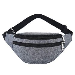 Waist Pack Bag for Men&Women – Waterproof Fanny Pack with Adjustable Strap for Workout ...