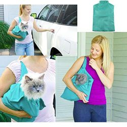 ☀ Dergo ☀Comfort Cat Travel Carrier,Portable Outdoor Cat Dog Pet Double Shoulder M ...