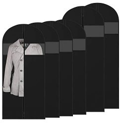 "Amethysun Garment Bags for Storage and Travel, 60"" Breathable Suit Bags, Anti-Moth Suit Co ..."