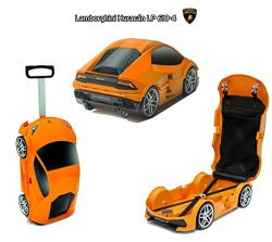 Ridaz Lamborghini Huracan Carry-on Hand Luggage for kids, (Officially Licensed by Lamborghini) O ...