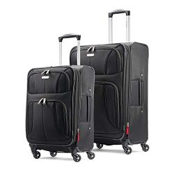 Samsonite Aspire xLite Expandable Softside Set with Spinner Wheels, 2-Piece (20″/25″ ...