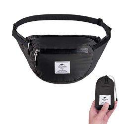 Naturehike Lightweight Waist Bag, Fanny Pack/Waist Packs Adjustable Belt Strap Runner, Cyclist,H ...