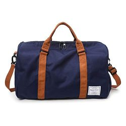 MOLLYGAN Oversized Duffel Bag Large Capacity Gym Bag Travel Duffle Sports Bag with Shoes Compart ...