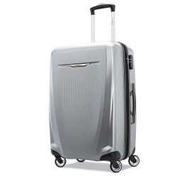 Samsonite Checked-Medium, Silver