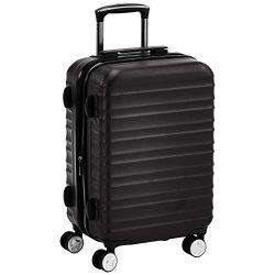 AmazonBasics 20-Inch Carry-on, Black