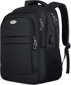Laptop Backpack,Business Travel Slim Durable Anti Theft Laptops Backpack with USB Charging Port, ...