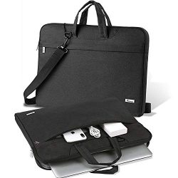 V Voova 17 17.3 Inch Laptop Case Messenger Bag Waterproof Computer Cover Sleeve with Pockets Str ...