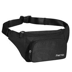 FREETOO Fashion Fanny Packs Waist Packs for Men Women Girls Kids, Waist Bag Bum Bag Lightweight  ...